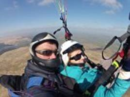 hero paraglider is killed in midair collision with a man who also died