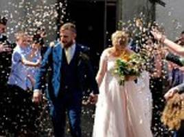 Dementia means groom, 31, could soon forget his magical wedding day