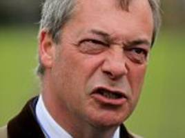 nigel farage vows return to front line politics to attack theresa may's 'fraudulent' chequers plan
