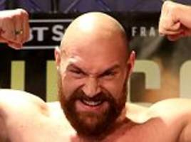 tyson fury vs francesco pianeta live plus carl frampton vs luke jackson