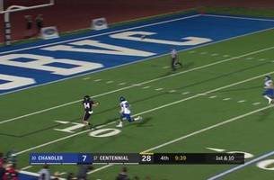 Week 0: Reggie Retzlaff caps off Centennial's win with 33-yd TD