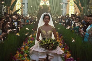 'crazy rich asians' on track to top 'the meg' at box office