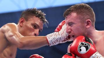 Northern Ireland's Barnes fails in bid to win world title