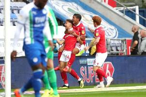 matty cash 'a little diamond' on a rough day for nottingham forest
