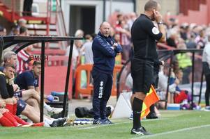 every word of cheltenham town manager gary johnson's interview after the 1-0 defeat by carlisle united