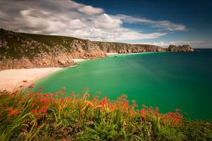 cornish beach 'stolen' to promote devon book