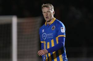 grimsby town sign shrewsbury defender luke hendrie on loan until january