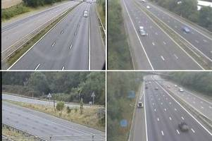 M5 traffic: If you want to travel on the motorway during the school holidays, this is the time to do it