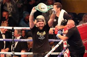 tyson fury defeats francesco pianeta on points to set up deontay wilder bout