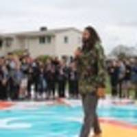 steven adams opens new community basketball court in palmerston north