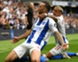 Brighton and Hove Albion 3 Manchester United 2: Murray lifts Seagulls to another win over Mourinho