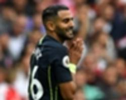 manchester city star mahrez never thought of english football