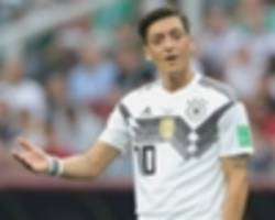 ozil's germany racism accusations handled poorly, dfb president admits