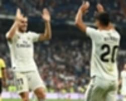 real madrid 2 getafe 0: bale gives lopetegui first laliga win
