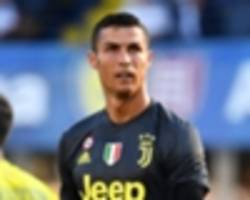 video: cristiano ronaldo's serie a debut for juventus vs chievo