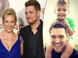 michael bublé reveals how son noah's cancer made him 'fall in love again' with wifeluisana lopilato