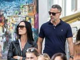 ryan giggs finally goes public with his secret pr girl lover