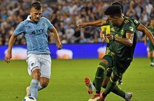 Diego Rubio scores twice to lead Sporting KC over Portland Timbers | 2018 MLS Highlights