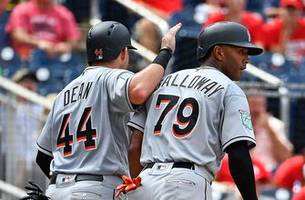 marlins pound nationals 12-1, jose urena throws first career complete game