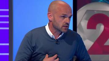 Manchester United: Danny Murphy criticises players' effort