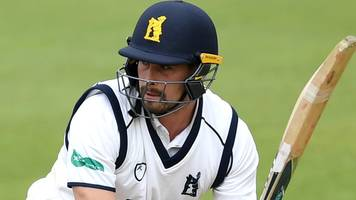 county championship: will rhodes ton helps warwickshire dominate gloucestershire