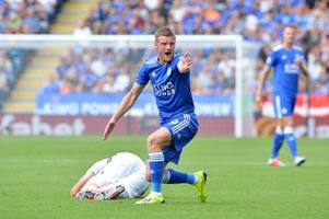 jamie vardy apologised for red card tackle on wolves' matt doherty