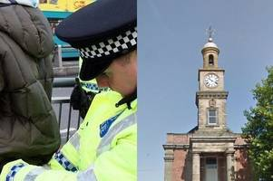 Five arrests in Newcastle Borough as result of stop and search