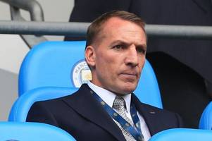 celtic boss brendan rodgers spotted at etihad stadium fuelling transfer speculation