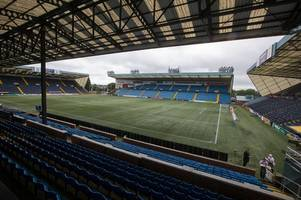 rangers keeper allan mcgregor slams rugby park pitch after jamie murphy injury
