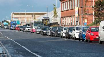 interim relief road to deal with traffic chaos in belfast harbour delayed