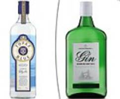Aldi's £10 Oliver Cromwell London Dry Gin wins award and its £14 premium bottle also scoops prize