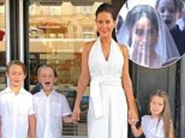 Meghan Markle's friend Jessica Mulroney shares a sweet snap of her son Brian puling face