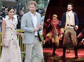 Prince Harry and Meghan Markle will attend gala performance of Hamilton