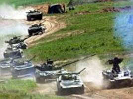 Russian military braces for massive war games involving China