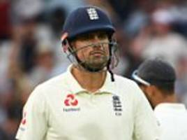 cook could miss crucial fourth test against india with burns waiting in wings for england debut