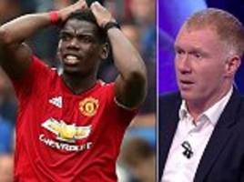 paul scholes claims there's a lack of leaders at manchester united and hits out at paul pogba