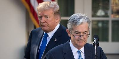 trump reportedly complained about fed chair jerome powell during a gop fundraiser in the hamptons