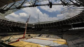 Tottenham to play first Champions League game at Wembley