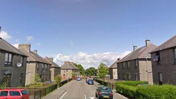 man in hospital after pole attack in west lothian street