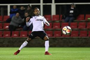 ikechi anya's stunning strike earns 10-man derby county u23s a point at swansea city