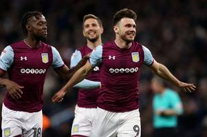 sheffield united plan 'record-breaking move' for aston villa striker