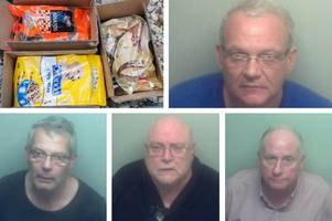 South London drug gang who hid cannabis in dog biscuits jailed