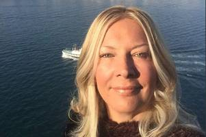 british cruise ship passenger reveals how she survived after falling overboard