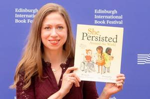 chelsea clinton says harry potter author jk rowling is inspirational role model like marie curie