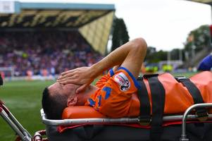 rangers star jamie murphy faces anxious wait over injury suffered in kilmarnock win