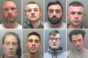 The suspected criminals wanted by police in South Wales