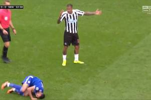 newcastle united winger kenedy to escape fa punishment after kicking cardiff city's victor camarasa