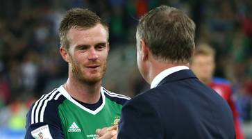 Northern Ireland star Chris Brunt announces retirement from international football