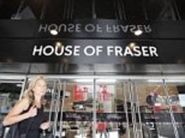 House of Fraser's flagship store on London's Oxford Street saved from the chop