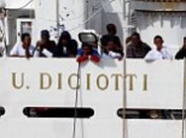 Italy's far-right Minister refuses to allow country's coastguard to drop off 170 migrants it rescued